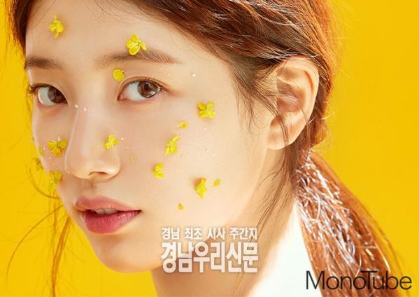 수지가 데뷔 10주년을 기념하는 '큐티 쁘띠 러블리 시크'의 화보를 공개했다.